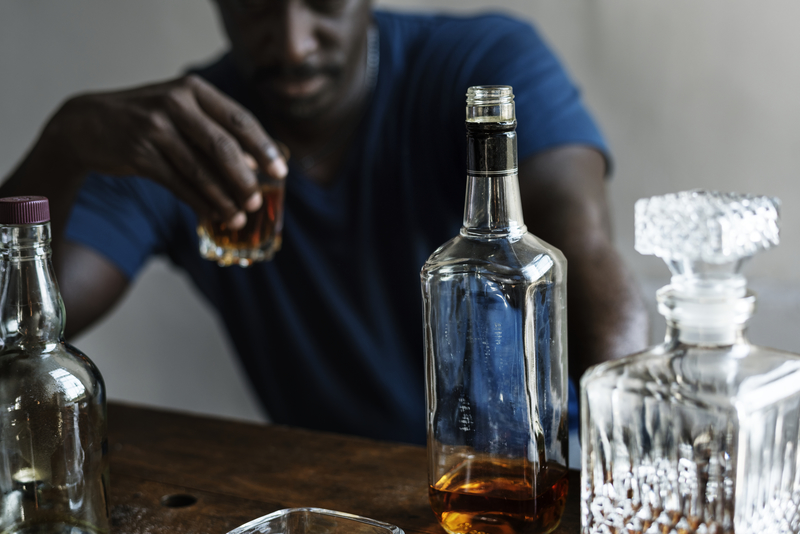 beter af met sterke drank